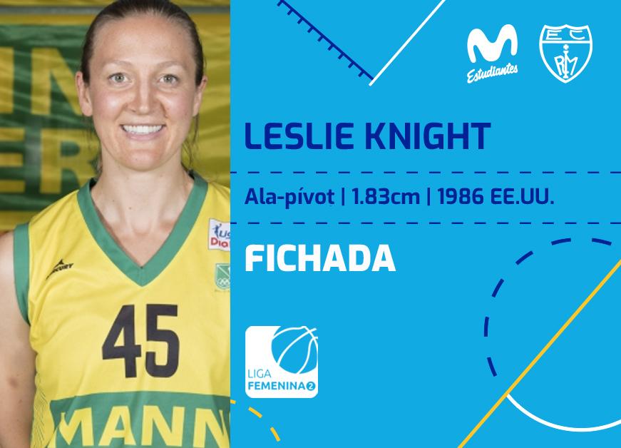 Leslie Knight, una MVP para Movistar Estu LF2