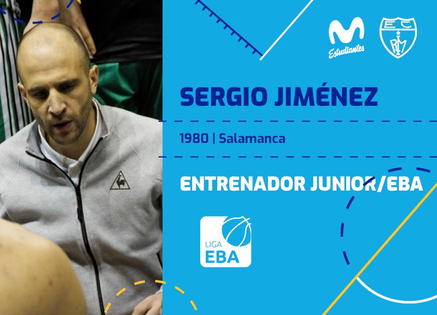 Sergio Jiménez, nuevo entrenador Junior/EBA
