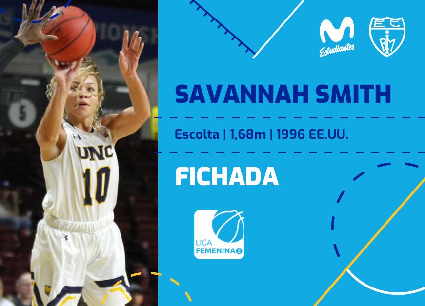 Savannah Smith, joven anotadora para Movistar Estu