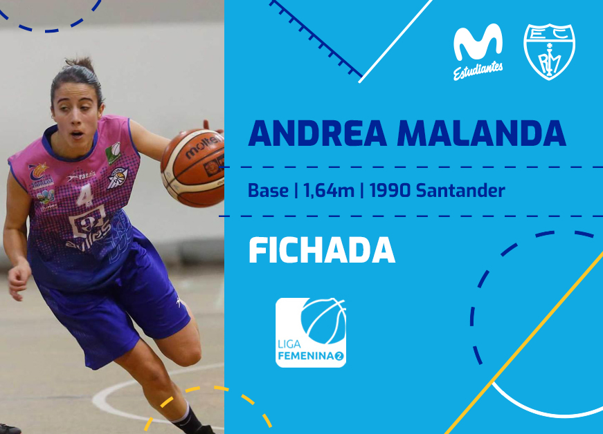 Movistar Estudiantes ficha Andrea Malanda