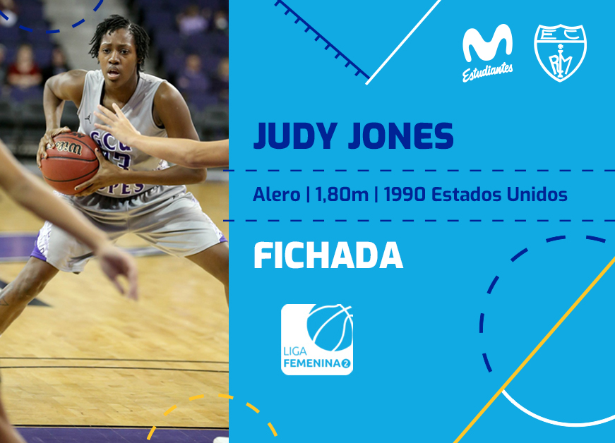 Judy Jones, anotación y experiencia para Movistar Estudiantes
