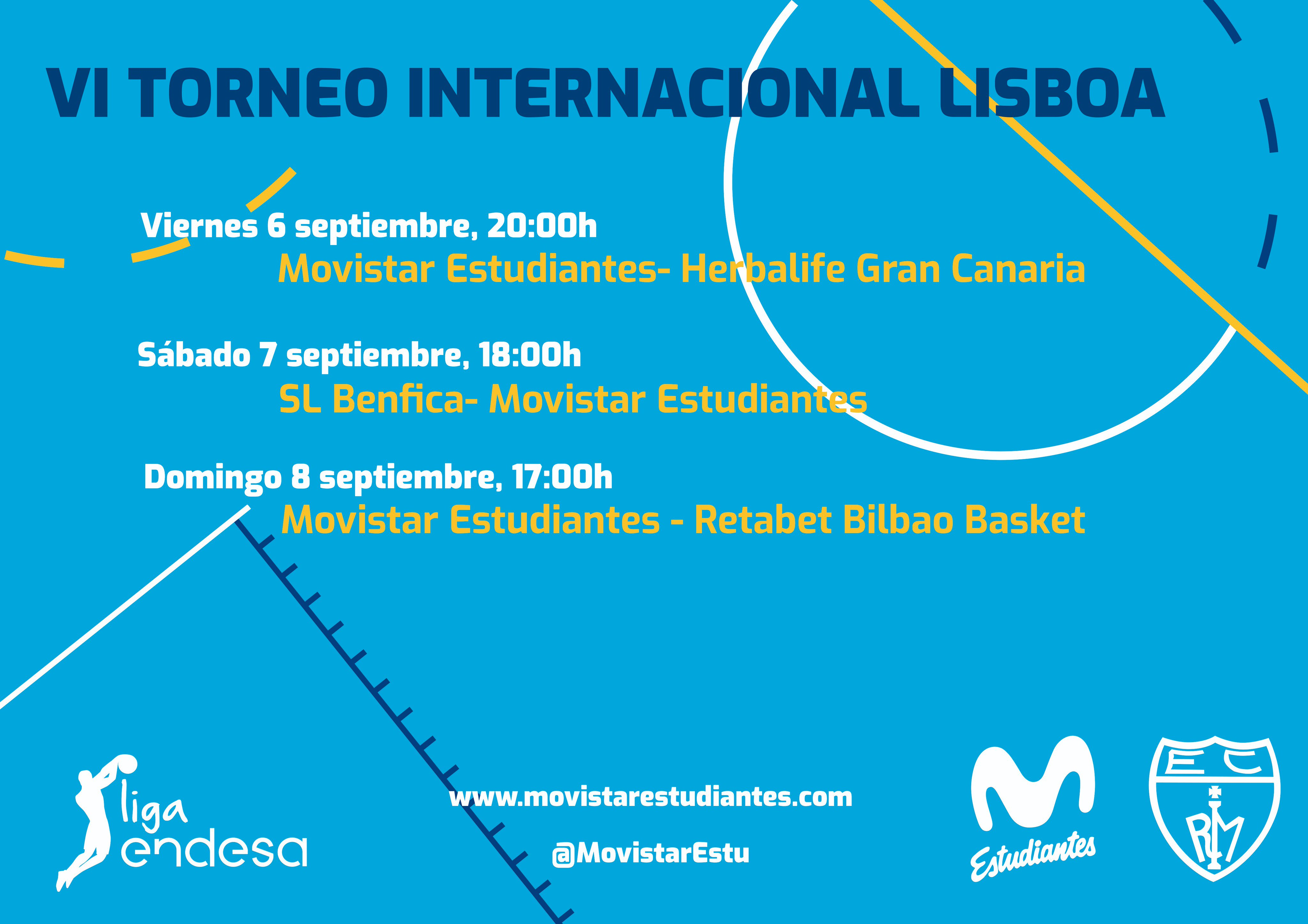 Torneo de Lisboa, triple ensayo para Movistar Estu