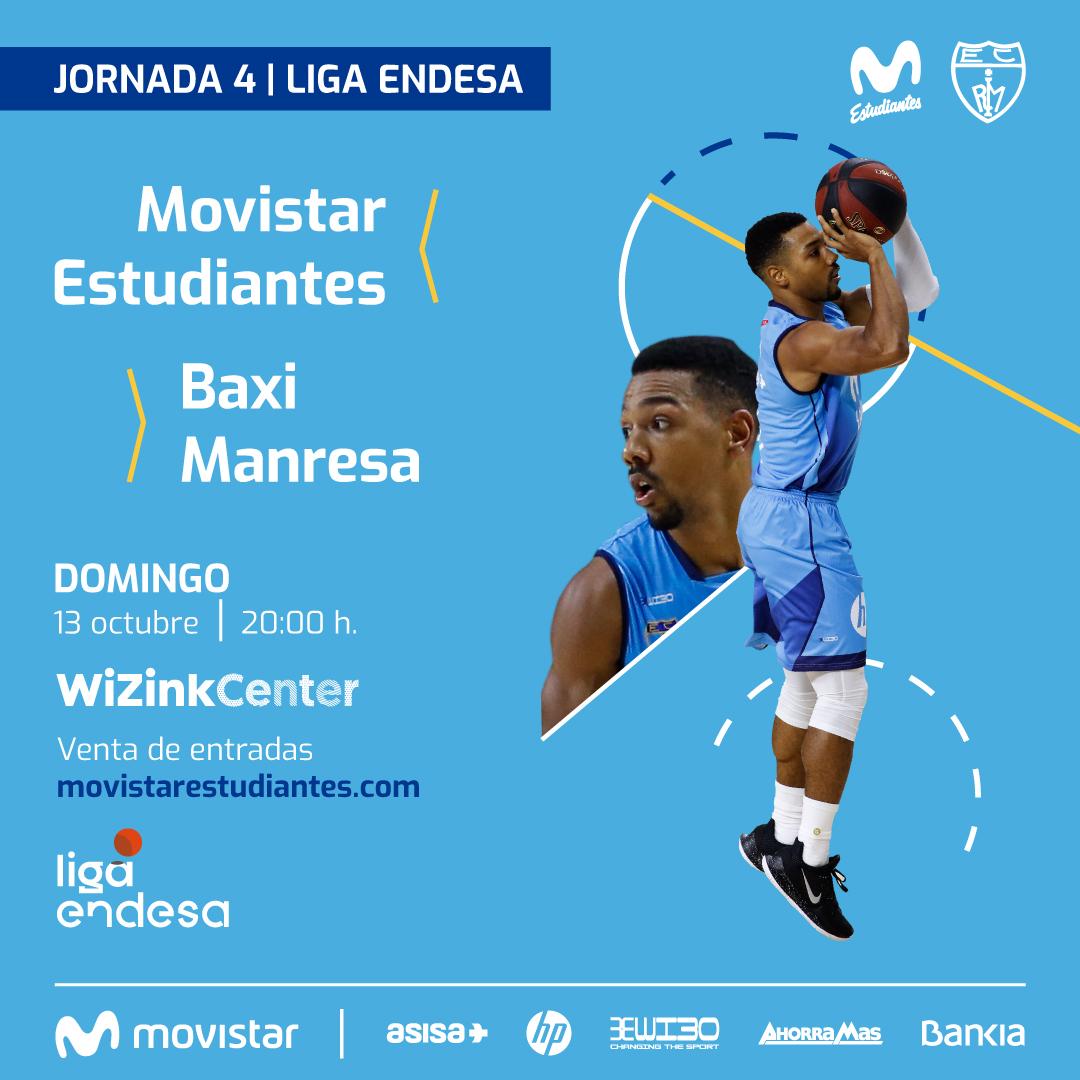 Domingo 13, 20h vs Baxi Manresa