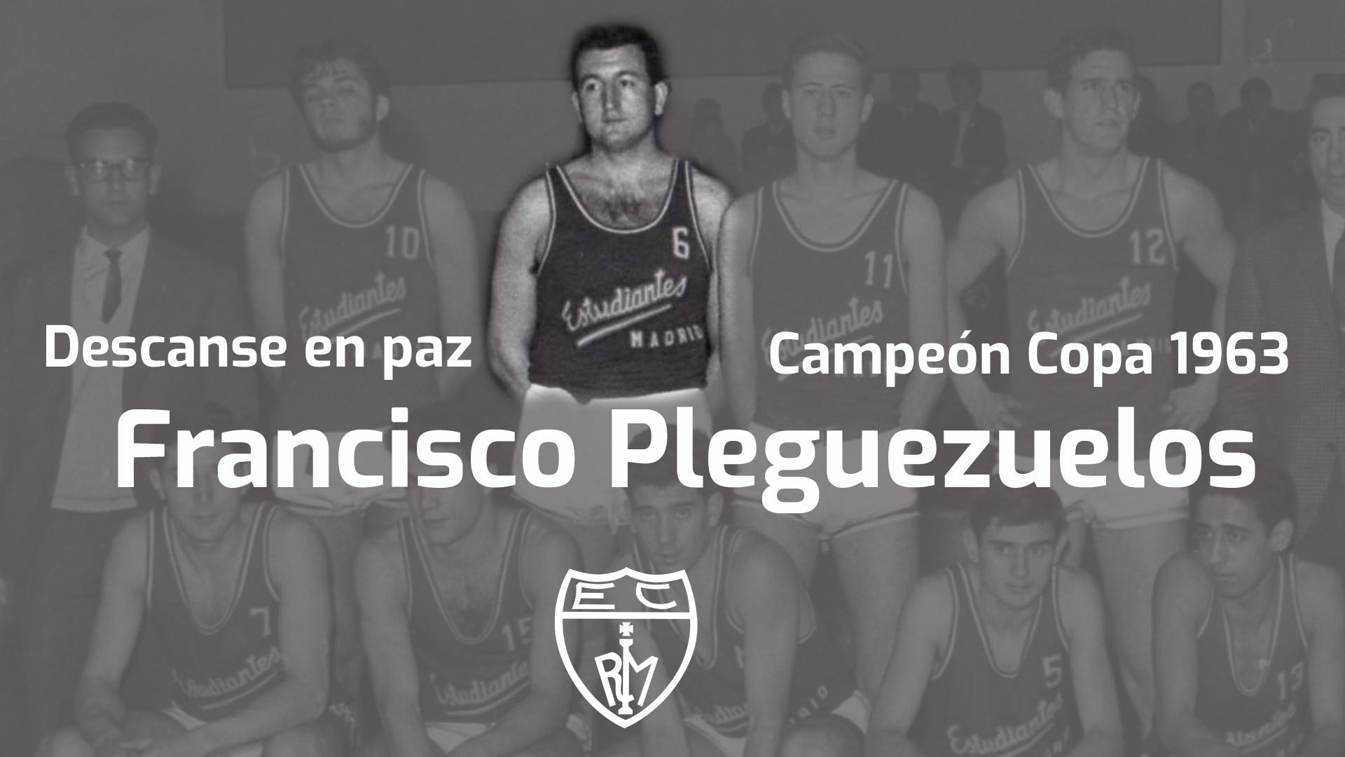 Descanse en paz Paco Pleguezuelos, campeón en 1963