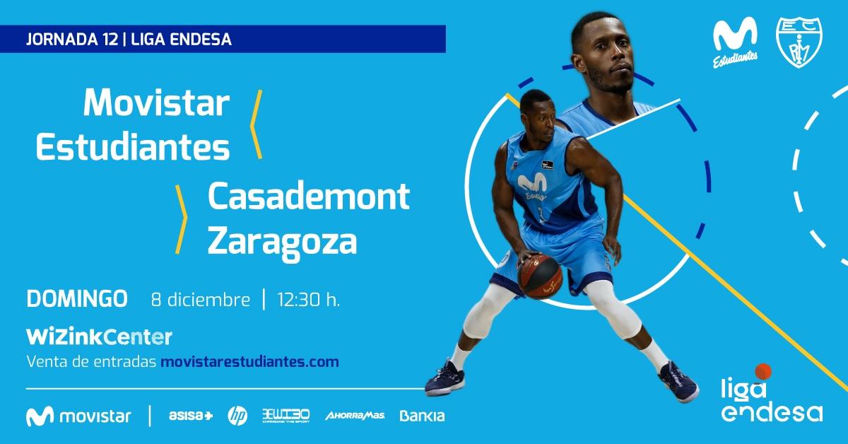Domingo 8D, 12:30h vs Casademont Zaragoza