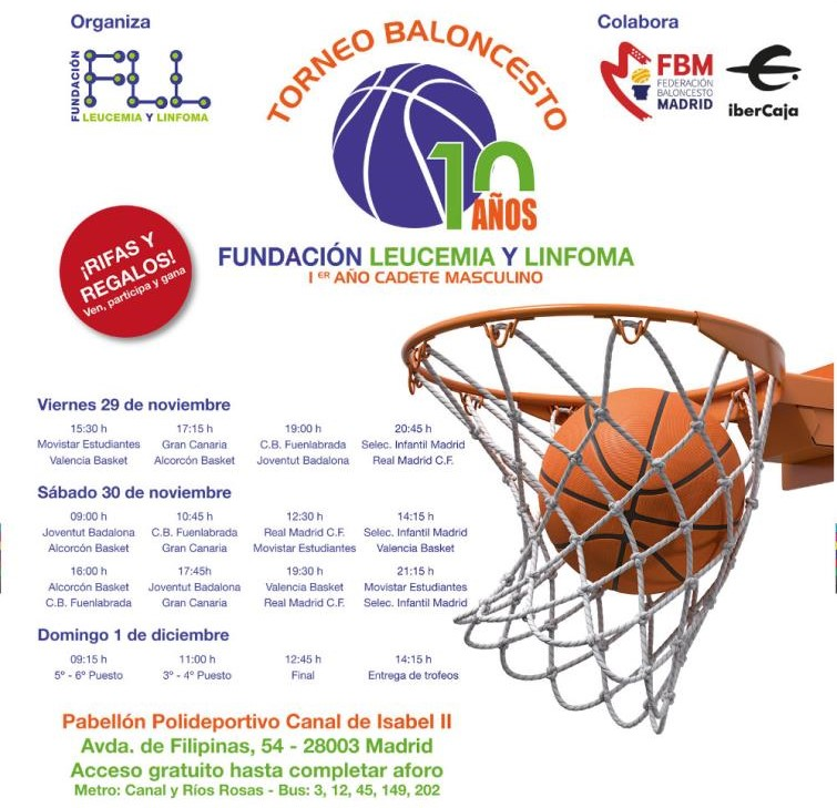 X Torneo Fundación Leucemia y Linfoma