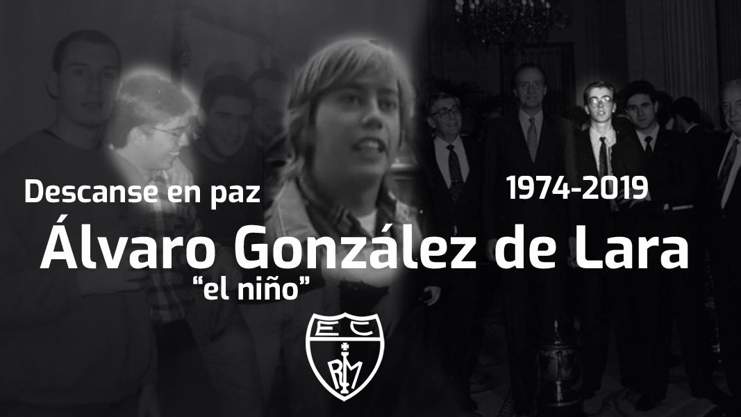 DEP Álvaro González de Lara, «el niño»