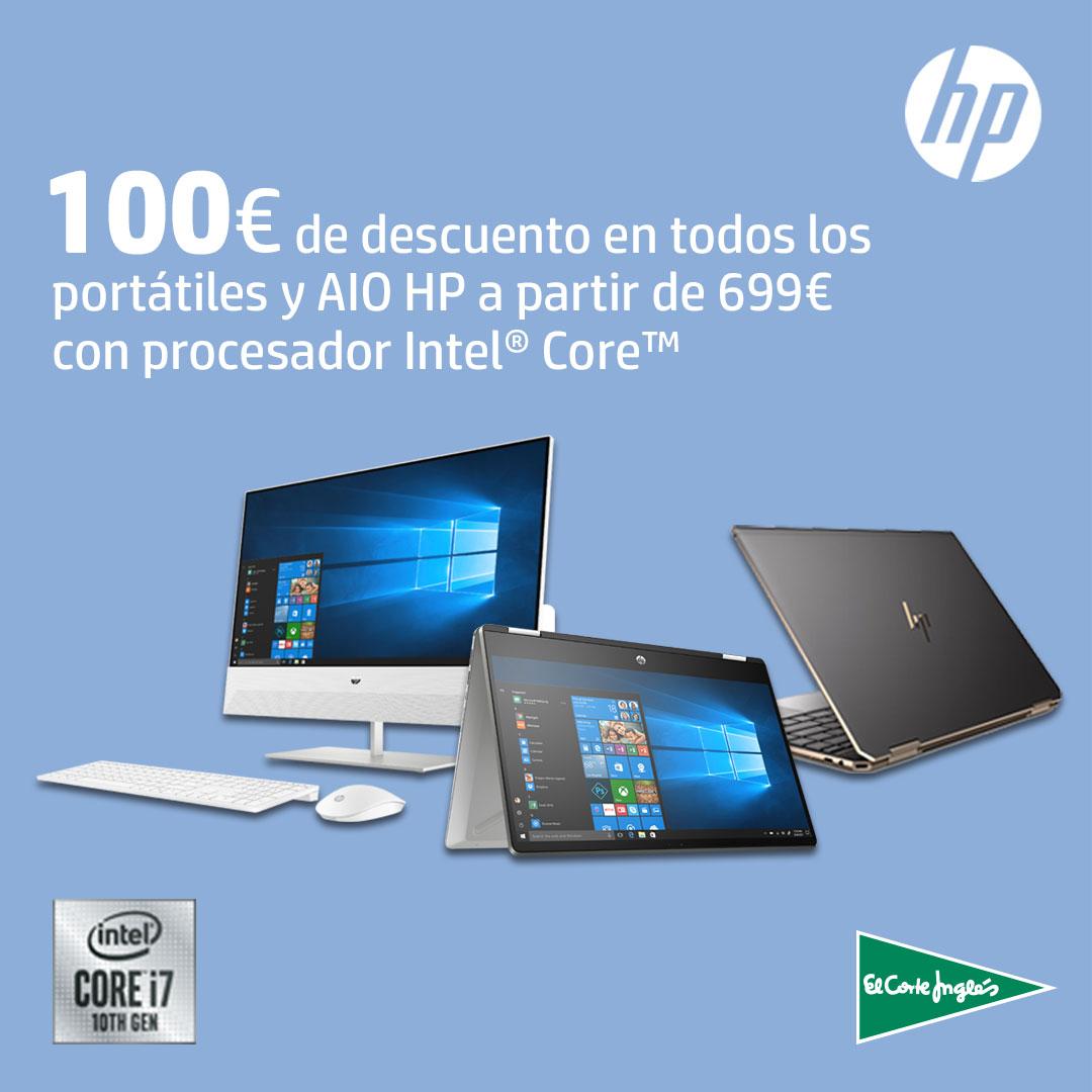 100€ de descuento con HP Premium