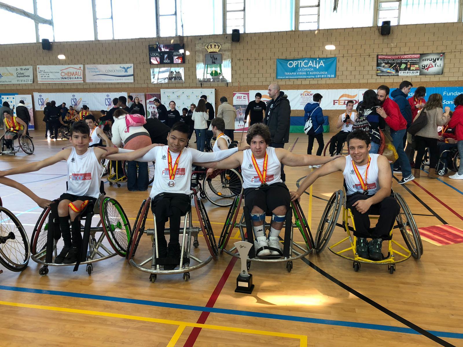 ESTUAMEB en el Campeonato de España escolar BSR