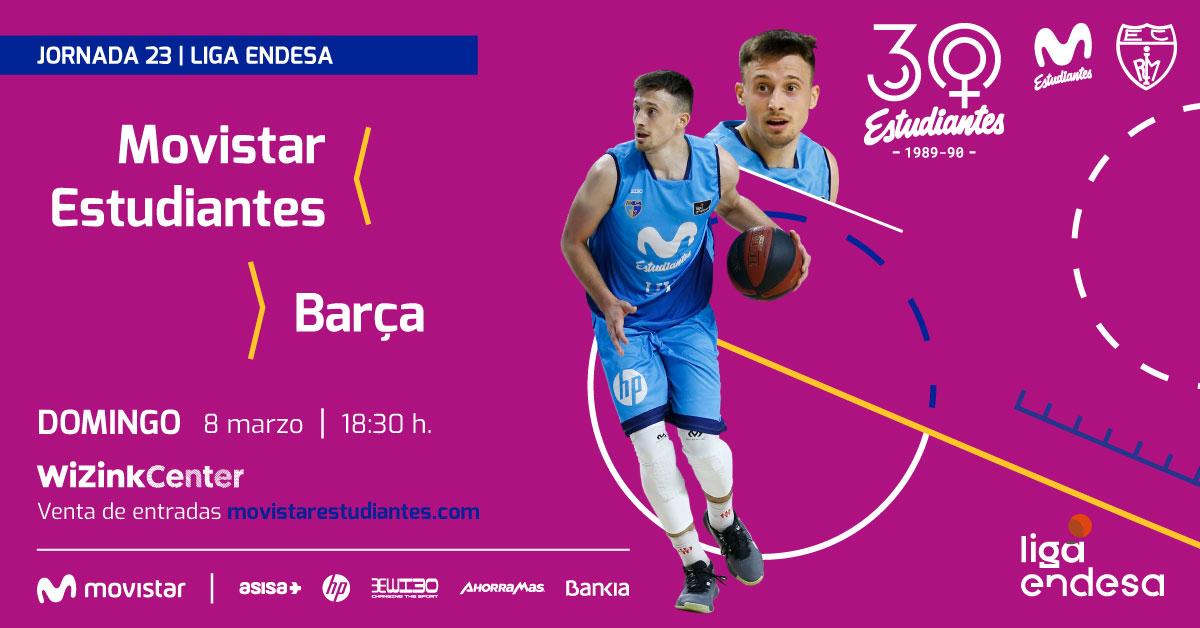 Entradas Movistar Estu vs Barça desde 10/20€