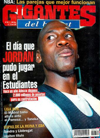 Cuando Michael Jordan pudo jugar en el Estu