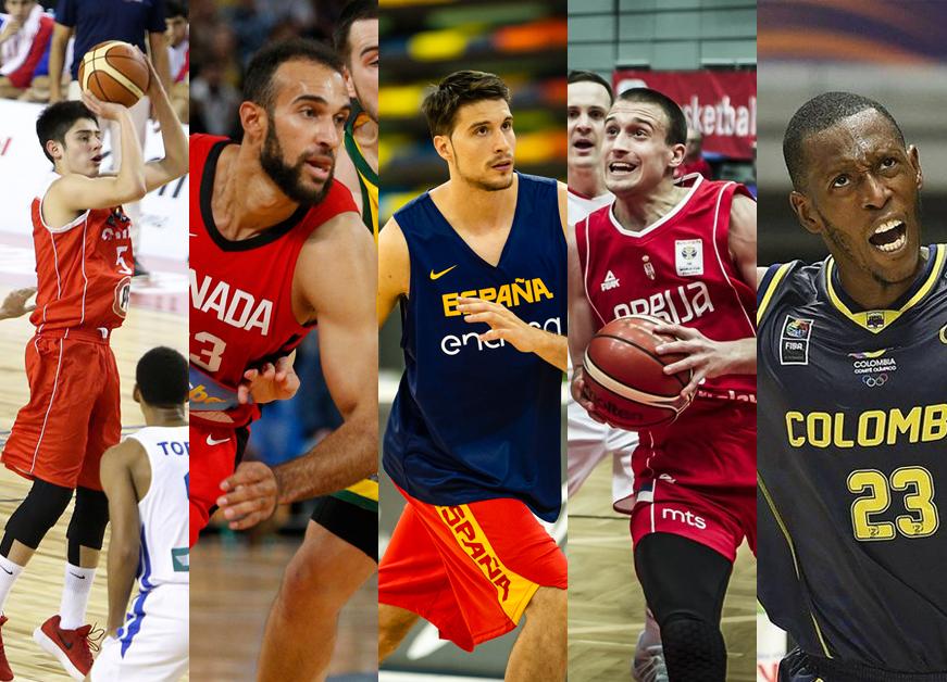 Ventanas FIBA: 5 jugadores de Movistar Estu