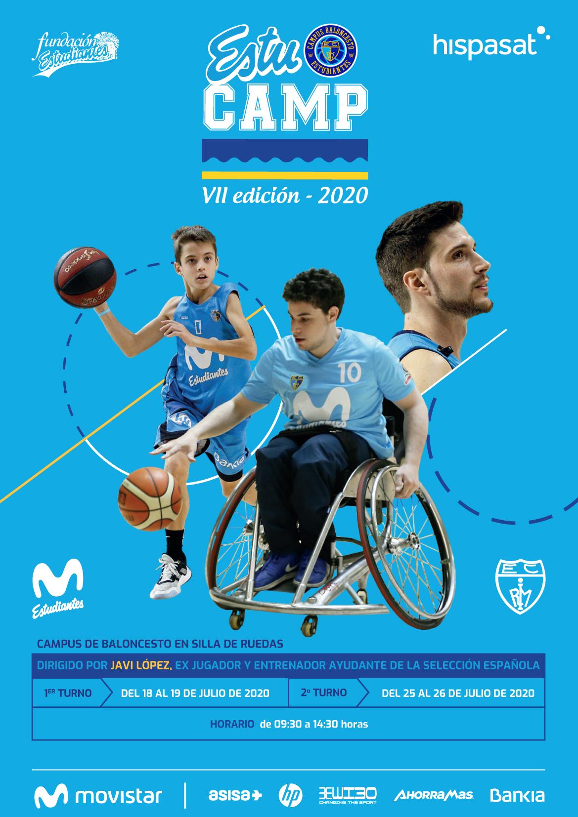 VII Campus ESTUCAMP Baloncesto en Silla de Ruedas