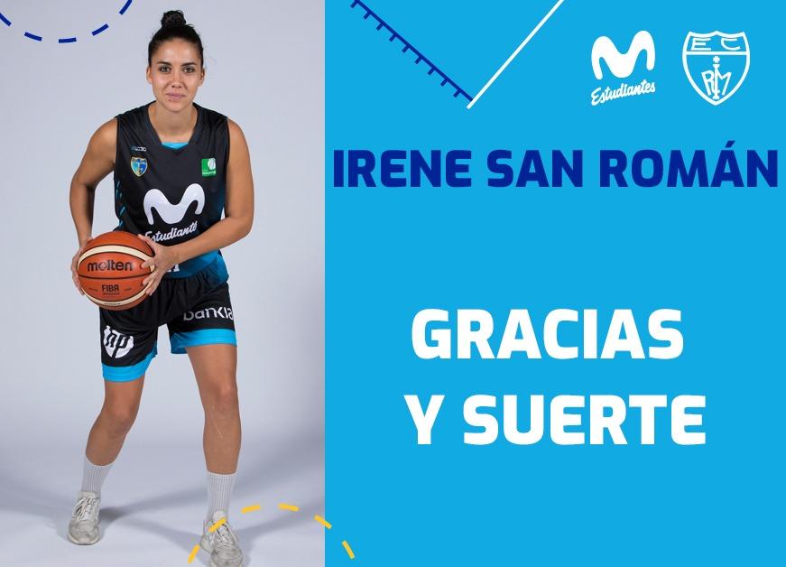 Hasta pronto, Irene. San Román no sigue en Movistar Estudiantes