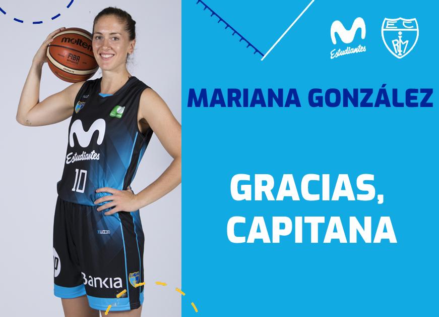 GRACIAS, Mariana. Movistar Estu y la gran capitana separan sus caminos deportivos