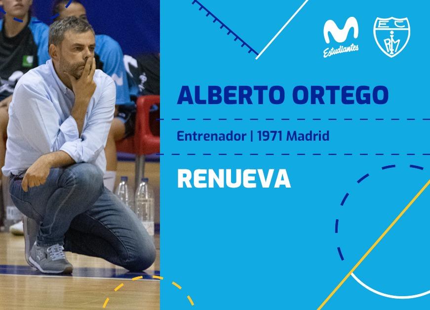LF: Alberto Ortego continuará al frente de Movistar Estudiantes