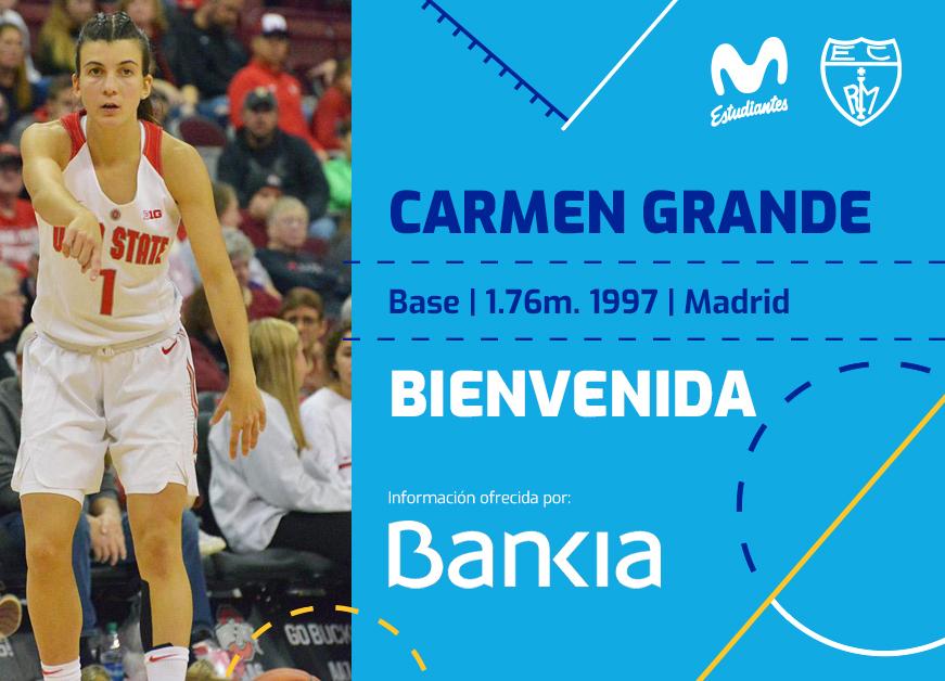 LF: Carmen Grande, primer fichaje para Movistar Estu
