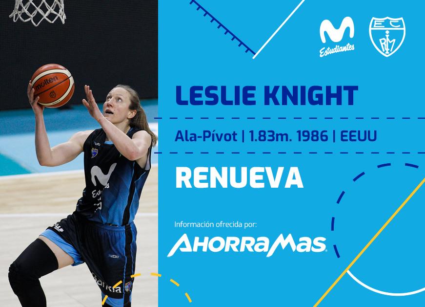 LF: Leslie Knight, una renovación con experiencia