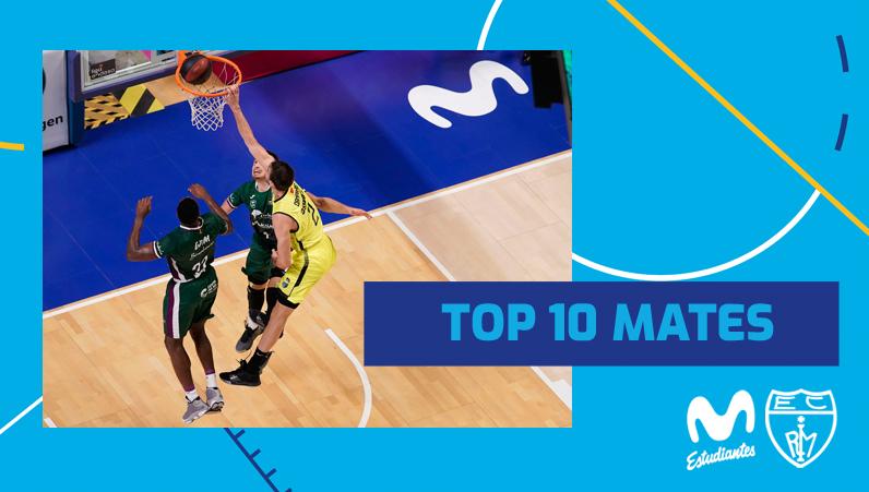 VÍDEO: Top 10 mates Movistar Estudiantes Liga Endesa 2019-20