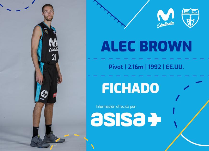 ACB: Alec Brown regresa a Movistar Estudiantes
