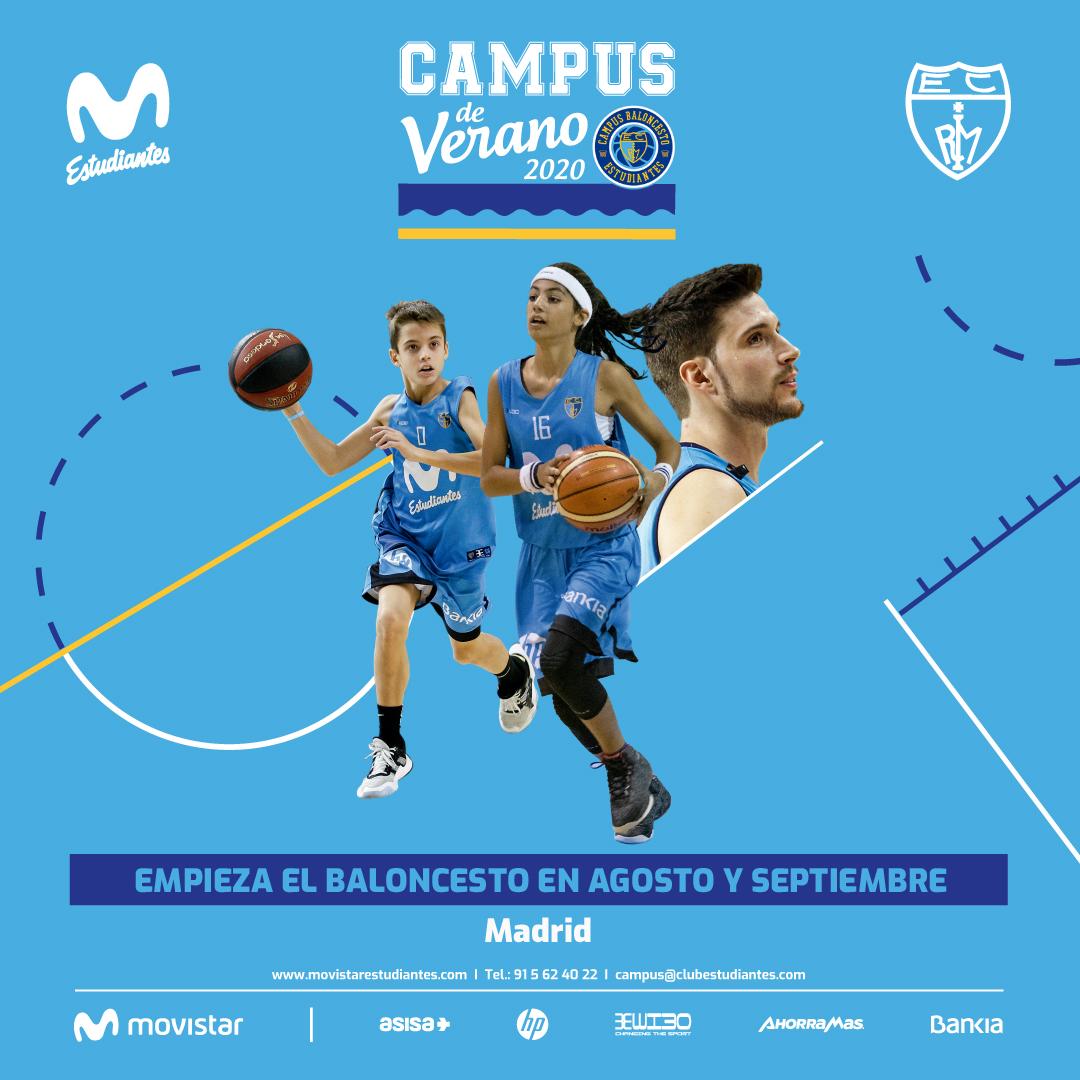 En agosto y septiembre, Campus «Comienza el baloncesto»