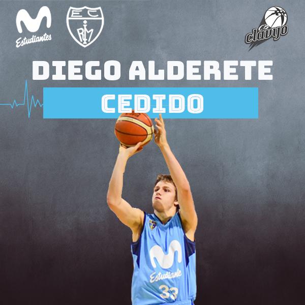 Diego Alderete volverá a jugar cedido en CB Clavijo