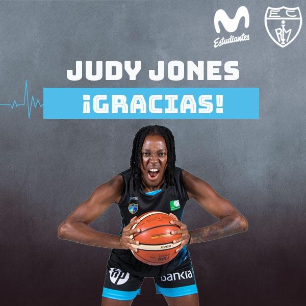 ¡Gracias Judy! Jones no jugará esta temporada