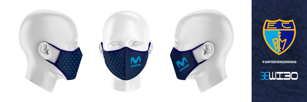 Mascarilla Movistar Estudiantes
