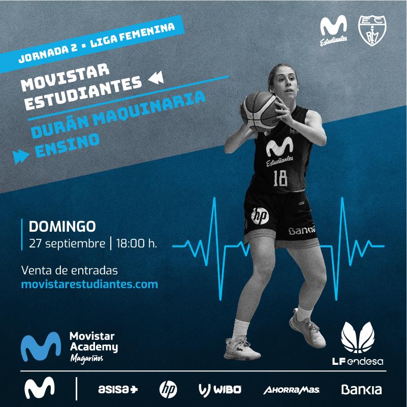 Entradas Liga Femenina: Movistar Estu vs D.M. Ensino