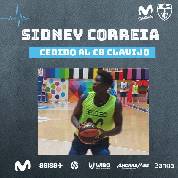 Sidney Correia, cedido al CB Clavijo