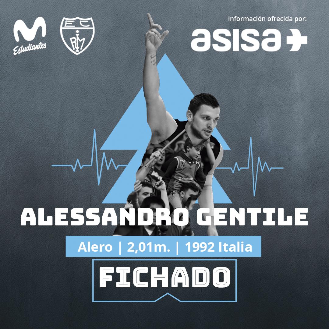 ACB: Regresa Alessandro Gentile