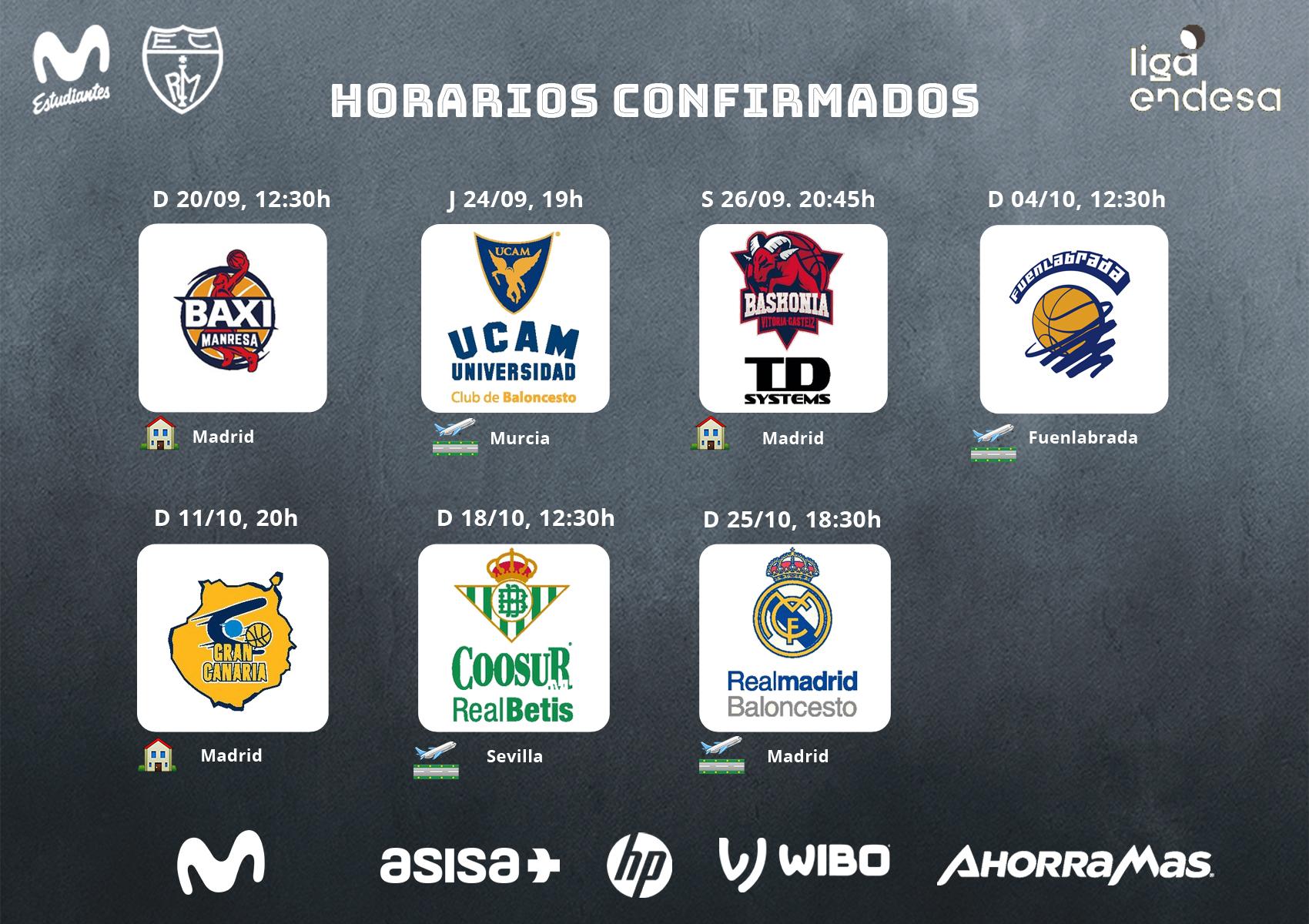 Calendario Liga Endesa 2020-21