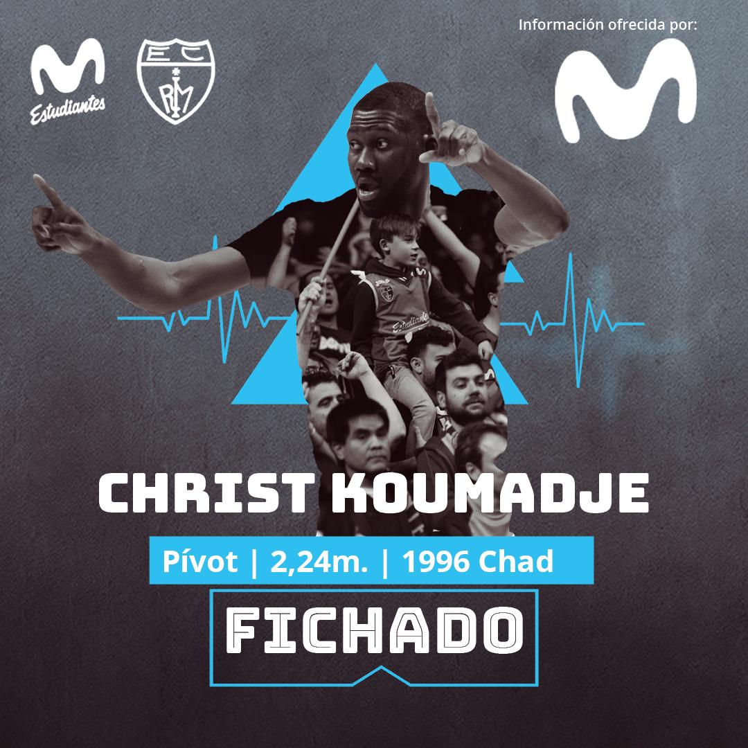 ACB: Koumadje se incorpora a Movistar Estudiantes