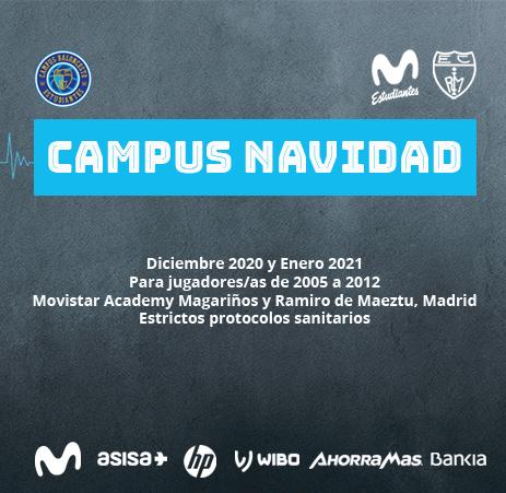 Campus Navidad 2020-21 Movistar Estudiantes