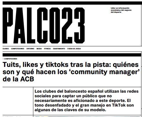 El exitazo en TikTok, en Palco 23