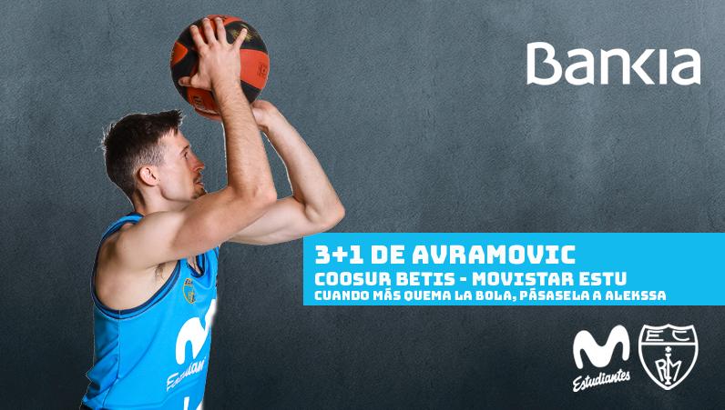 VÍDEO: 3+1 de Avramovic, el triple Bankia de la jornada