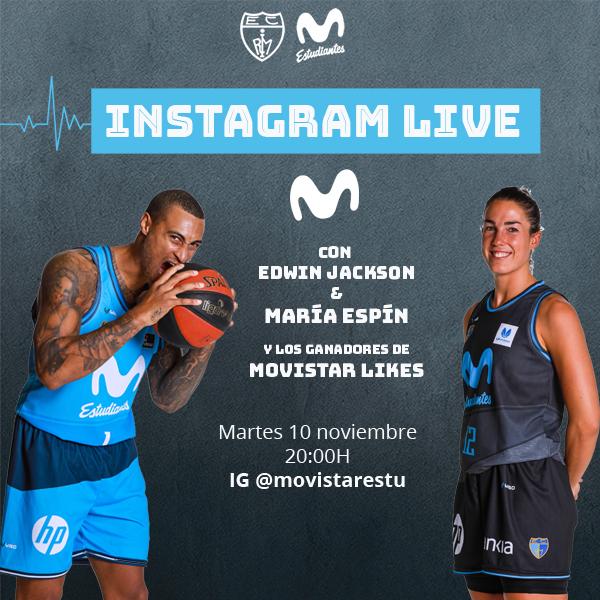 Martes 10, Instagram Live con Jackson y Espín
