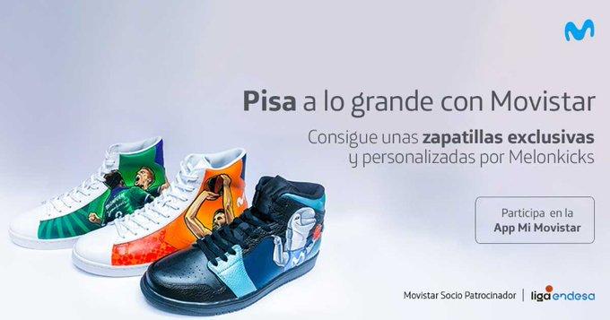 Gana las zapas personalizadas por Melonkicks con Movistar Likes