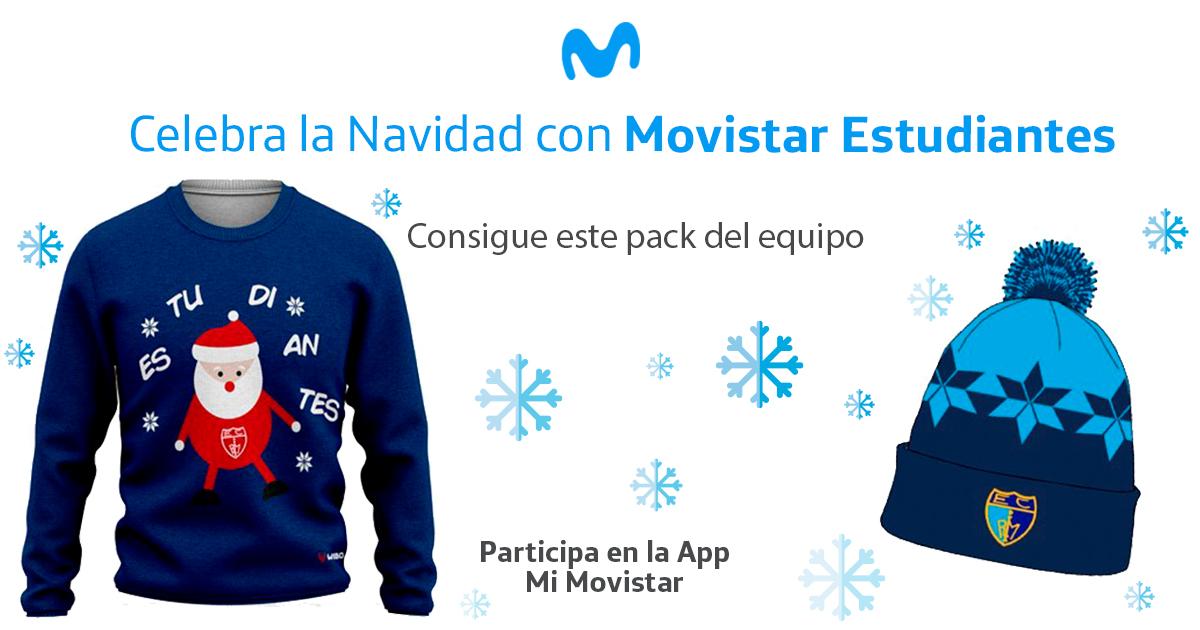 Pack navideño del Estu en Movistar Likes