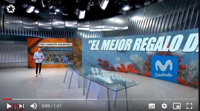 VÍDEO: Fundación Estudiantes en Telemadrid: solidaridad inclusiva por navidad