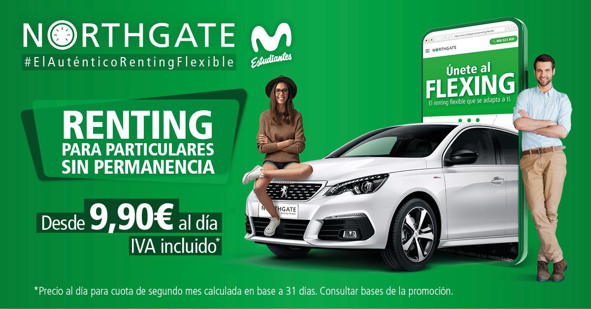 Únete al flexing con Northgate, proveedor oficial de Movistar Estudiantes