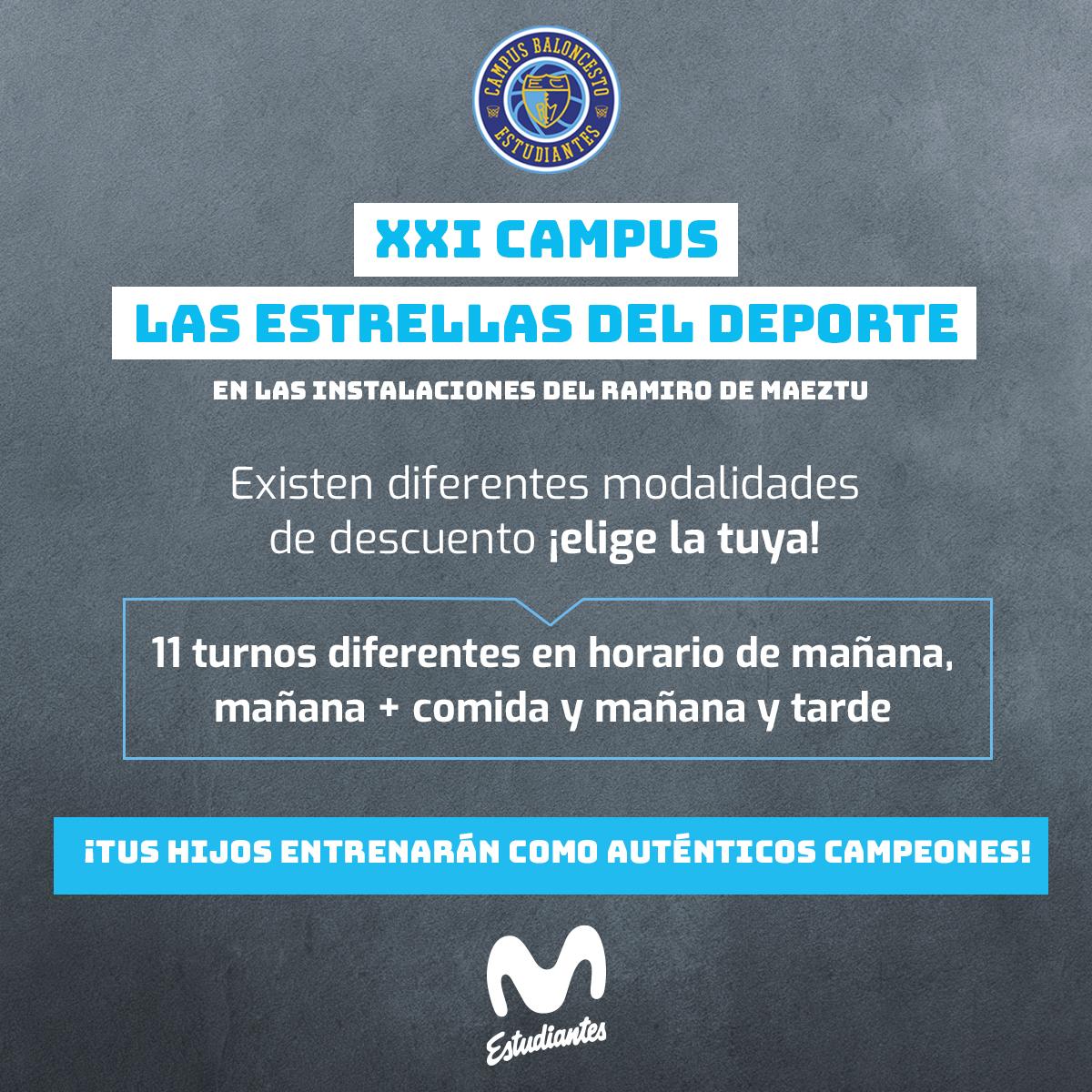 XXI Campus LAS ESTRELLAS DEL DEPORTE en Magariños