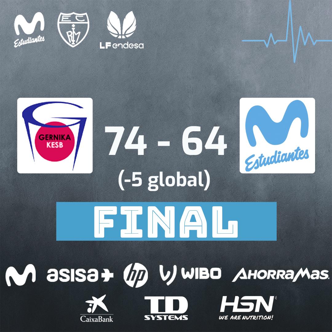 Playoffs LF Endesa: Con la cabeza muy alta (74-64, -5)