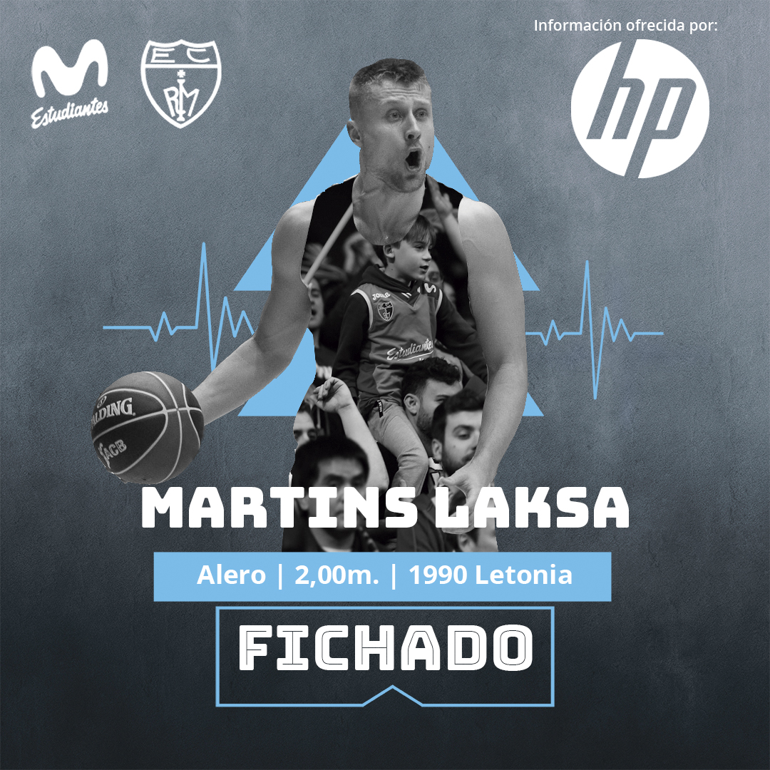 Martins Laksa, refuerzo para Movistar Estudiantes
