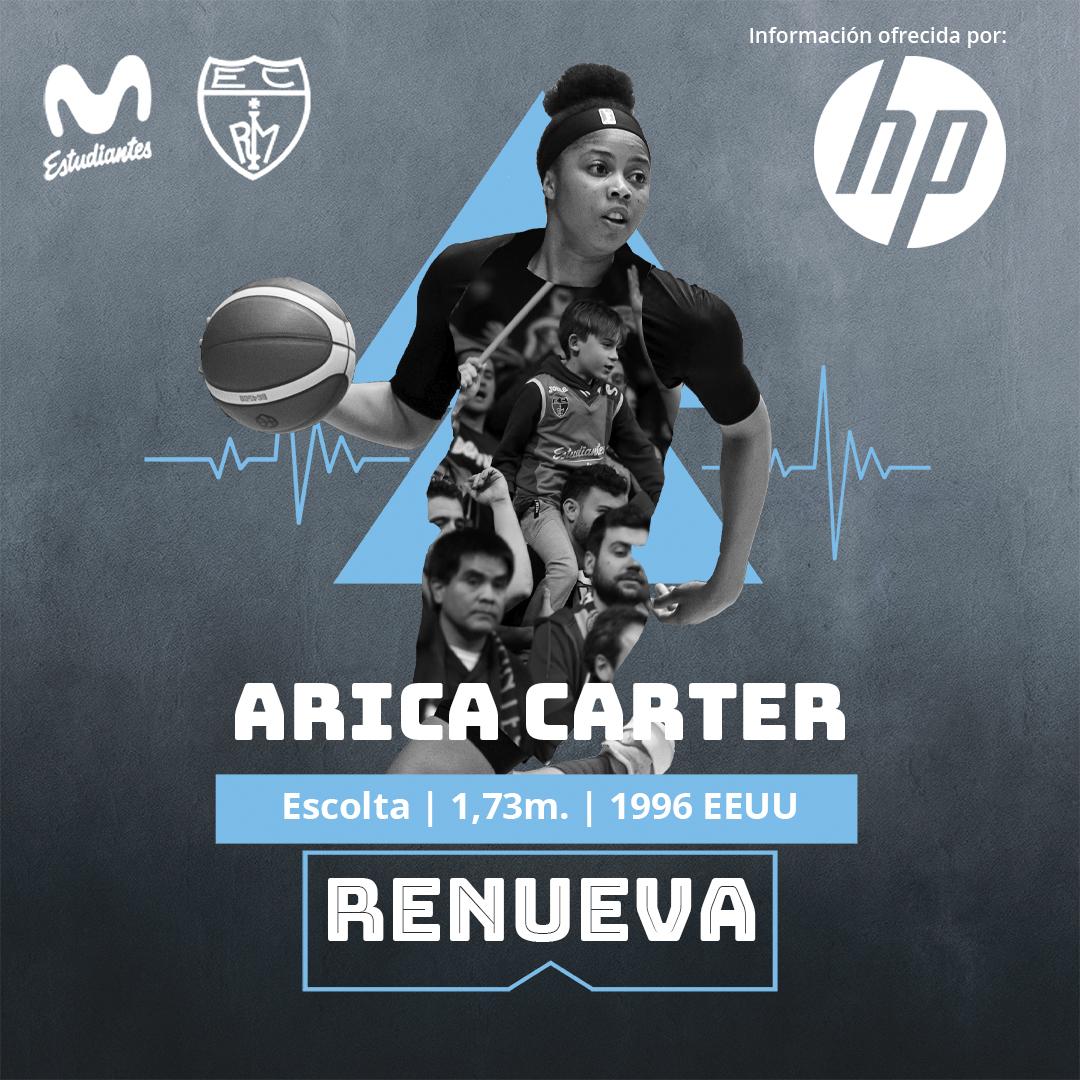 Arica Carter seguirá anotando con Movistar Estudiantes