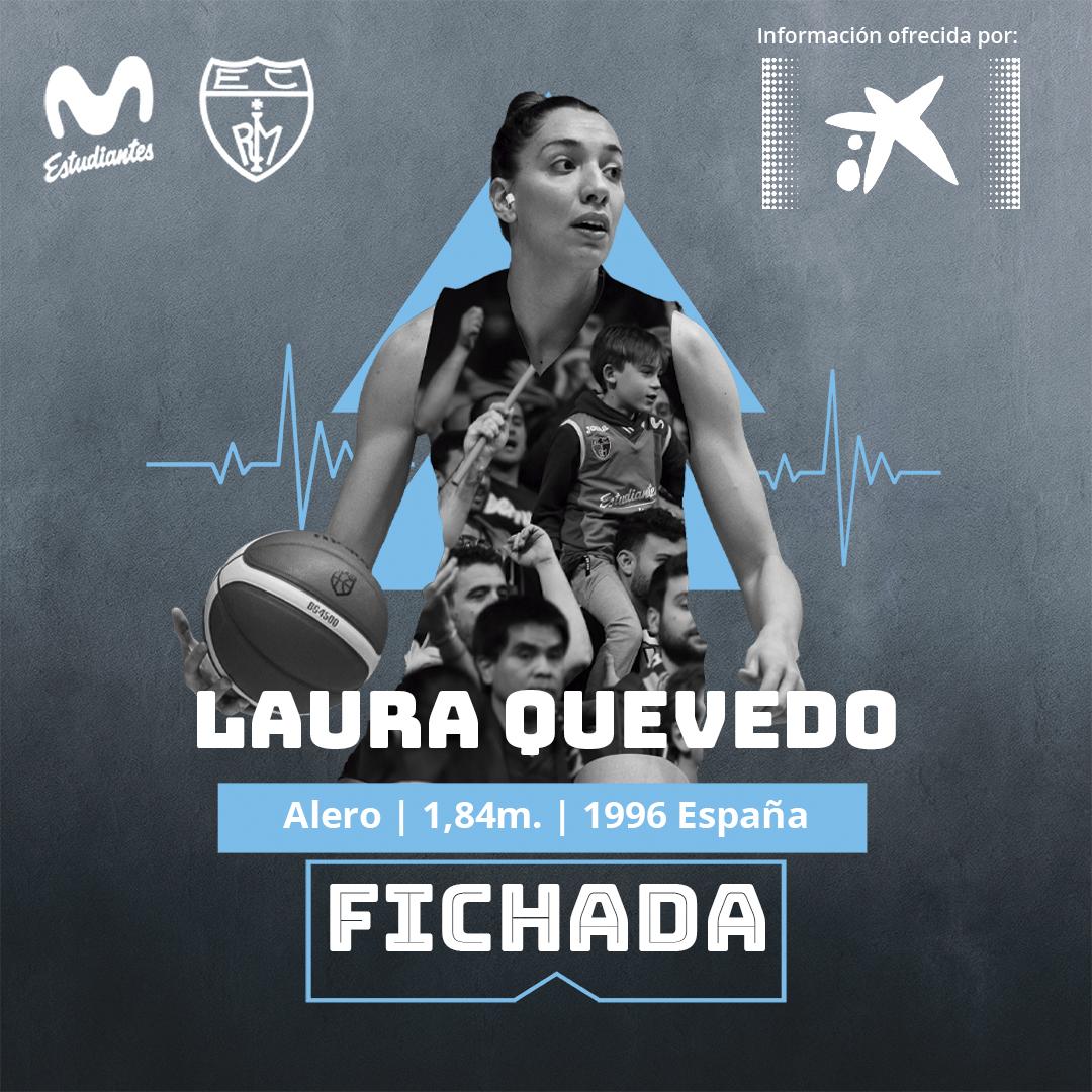 Laura Quevedo, talento nacional para Movistar Estudiantes