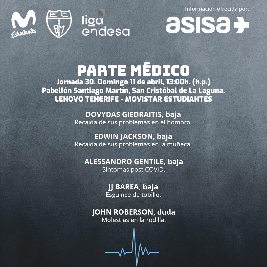 ASISA ofrece el parte médico Jornada 30