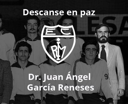 Descanse en paz Juan Ángel García Reneses