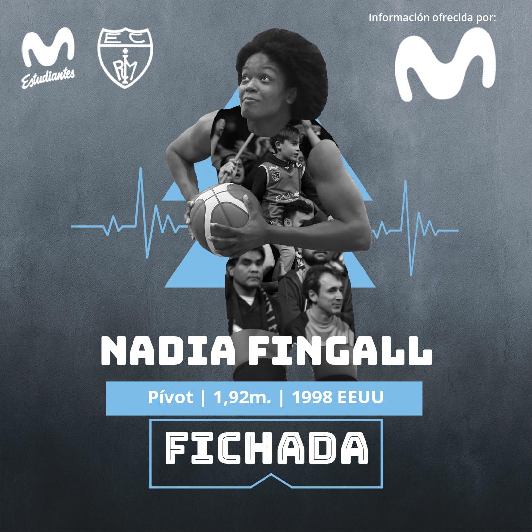 Primer fichaje interior para las Women in Black: Nadia Fingall