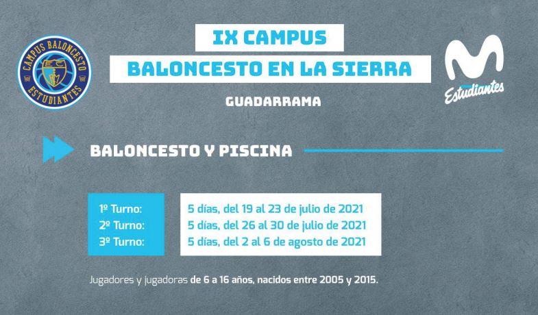 IX Campus BALONCESTO EN LA SIERRA en Guadarrama